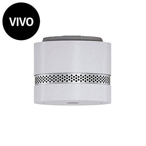 Vivo, gebrochenes Weiß - Nano Rauchmelder - CE - Autonomie 10 Jahre