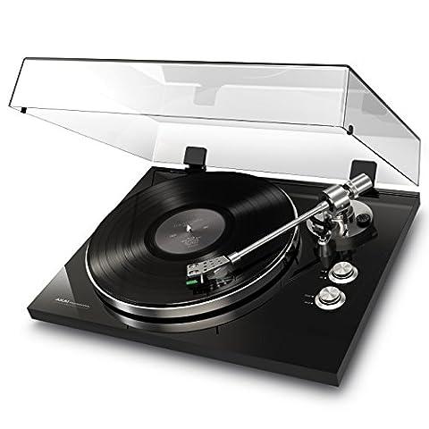 AKAI Professional BT500 Platine Vinyle Premium Bluetooth à Entraînement par Courroie avec Préampli Phono et Convertisseur - Finition Piano Black