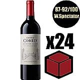 X24 Château Corbin 2014 75 cl AOC Saint-Emilion Grand Cru Classé Rouge Rotwein