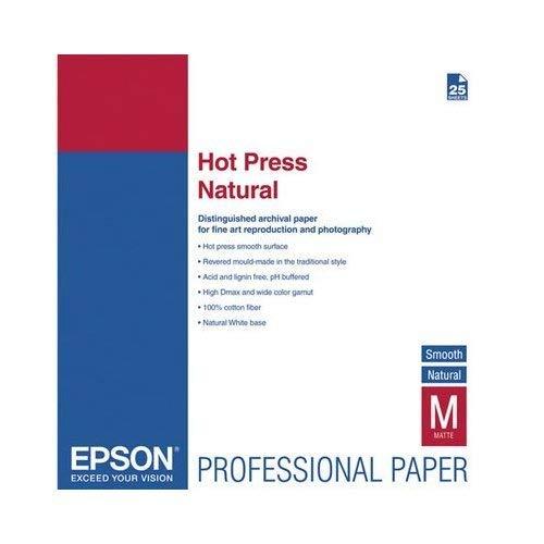 Epson C13S042322 Hot press natural inkjet 330g/m2 A2 25 Blatt