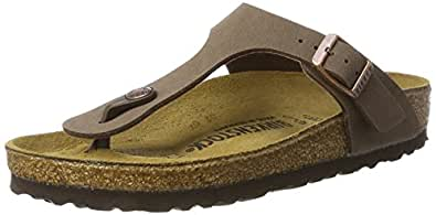 Birkenstock Gizeh, Unisex - Adults Sandals, Brown ( Mocca), 2.5 UK (35 EU)