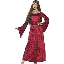 Smiffy 's 44682M Mujer Medieval Maid Disfraz (Tamaño Mediano)