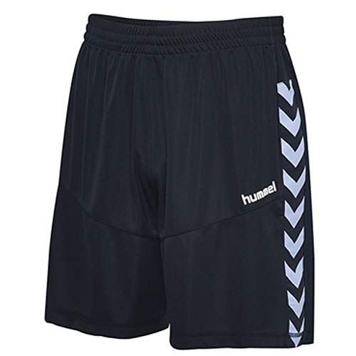 hummel Herren Court Poly Shorts, Black, XL