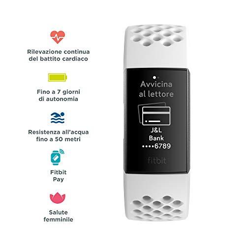 Zoom IMG-1 fitbit charge 3 tracker avanzato