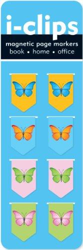 Iclip Magnetic Bookmark Butterflies