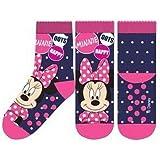 Suncity Calcetines antideslizantes Minnie Mouse Disney azules 23/26