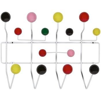 Charles Eames Style Coat Hooks Multi Colour Amazon Co Uk