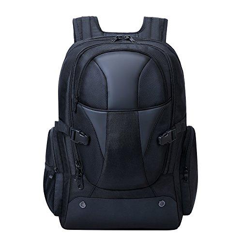 Laptoprucksack 18 zoll große Kapazität 45L Wasserdichter Reiserucksack Damen Herren Daypack für Gaiminglaptop Alienware MSI für Reisen, Outdoor Sport, Camping Campus
