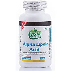 Vista Nutrition Alpha Lipoic Acid 300 mg - 120 Capsules
