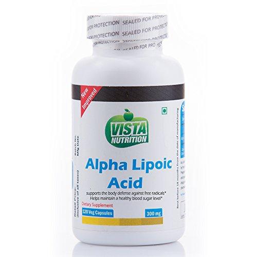 Vista Nutrition Alpha Lipoic Acid 300 mg - 120 Capsules