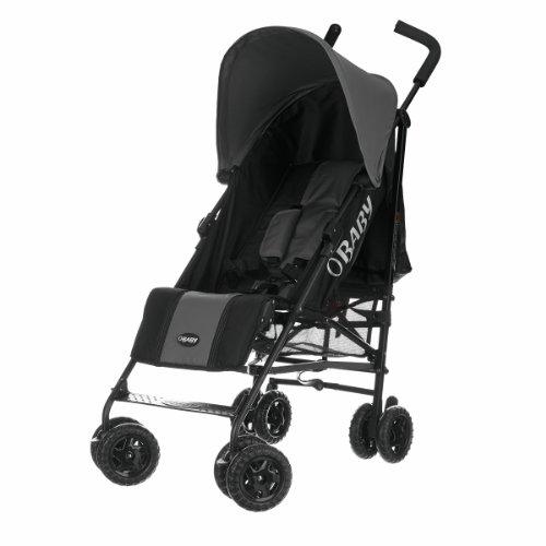 Obaby Atlas Black & Grey Stroller (Grey)