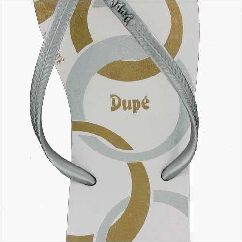 Dupé Joia in braun-gold, weiss-gold oder weiss-silber Weiß
