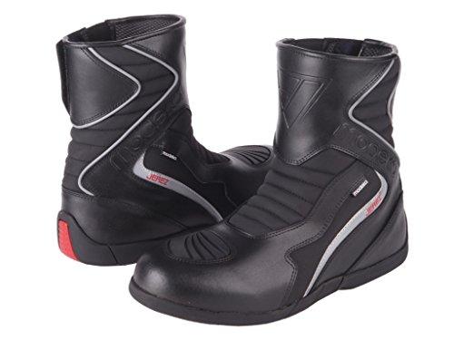 Pelle Modeka Jerez-Stivali da moto-nero