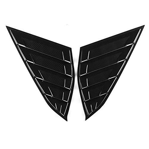 Youtaimei Zufriedenstellendes Produkt Stil Hintere Jalousien Seitenfenster Lamellen Auto Auto Dekorative Intake Scoop Turbo Motorhaube Lüftungshaube -