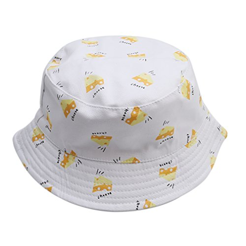 e Damen Mädchen Leicht Mütze Eimer Hut (Eimer Hüte Für Kinder)
