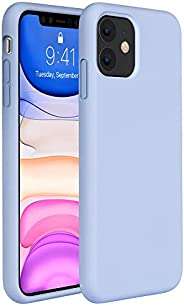 iPhone 11 Case - All-Around Covered Silicone Case Rubber Shockproof Cover with Microfiber Lining for iPhone 11