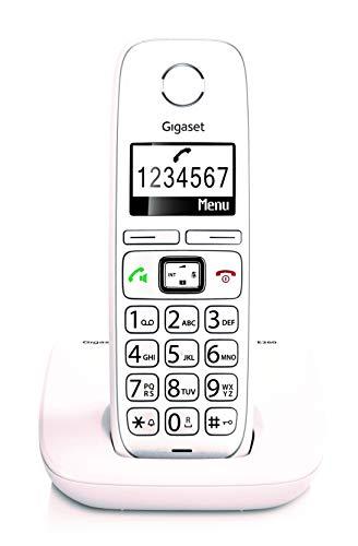 Gigaset E260 - Teléfono inalámbrico teclas grandes