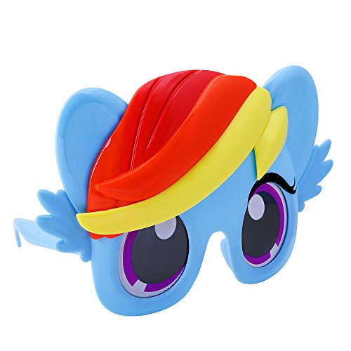 Officially Licensed My Little Pony Rainbow Dash Sun-Staches