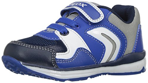 Geox B Todo C, Chaussures Marche Bébé Garçon Bleu (Royal/greyc0095)