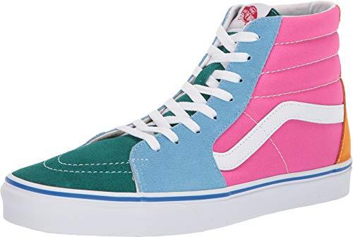Vans Sk8 Hi Schuhe (Suede/Canvas) Multi/Bright -