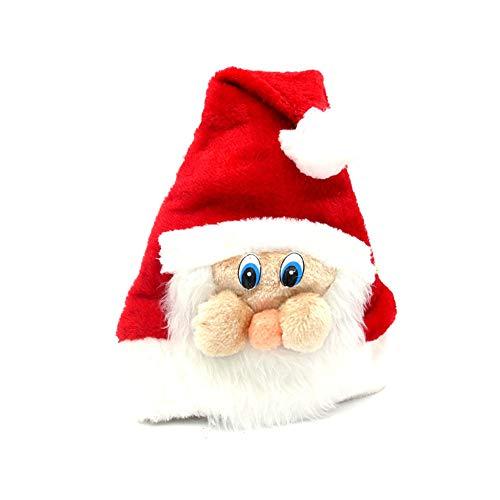 Weihnachtskostüm Adult - SSRSHDZW Weihnachtsmütze Weihnachtskostüm Plüsch Party Party Supplies Weihnachtsmütze Unisex Adult Child 40X28CM