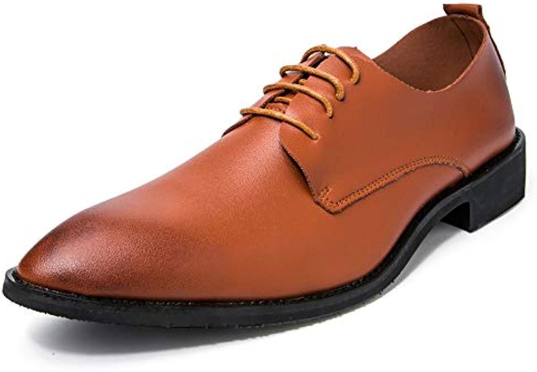 Xiaojuan-scarpe, Scarpe Casual da Uomo Stile Classico di Oxford,Scarpe Uomo Pelle (Coloree   Marronee, Dimensione... | Nuova voce  | Sig/Sig Ra Scarpa