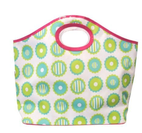 ower Lunch Tote Reusable Bag by MSC (Mainstreet Blues)