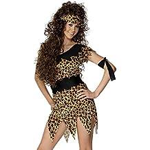 Steinzeit Kostüm Damen L Neandertalerin Outfit Jane Steinzeitkostüm Leo Look