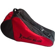 Skate–Bolsa para patines de Bag, tamaño grande), color rojo y negro (58* 30* 18cm), Swamp País
