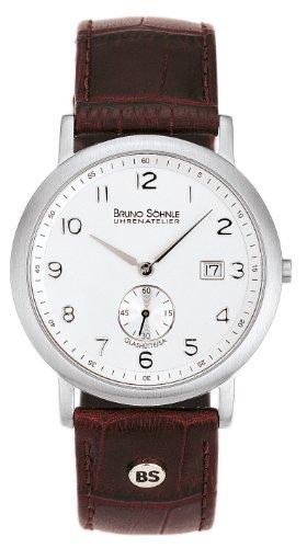 Bruno Söhnle Herren-Armbanduhr Prato Analog Quarz Leder 17-13036-221