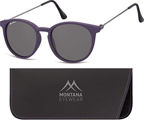 Montana S33, Gafas de Sol Unisex Adulto, Multicolor (Purple + Smoked Lenses), Talla única