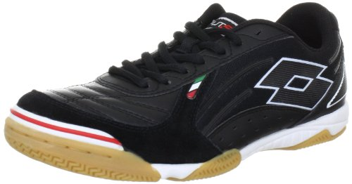 lotto-sport-futsal-pro-v-id-sports-shoes-football-mens-black-schwarz-black-size-7-41-eu