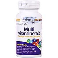 Complejo vitamínico con minerales, vitamina C, vitaminas B2, B3, B5, B6 y B12 y hierro - Multivitamínico para.