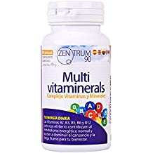 Complejo vitamínico con minerales, vitamina C, vitaminas B2, B3, B5, B6