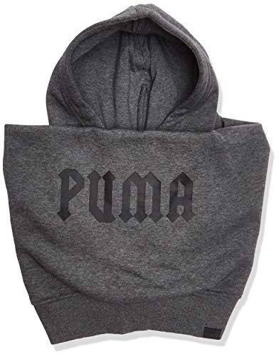 PUMA Unisex-Adults Fenty Slip-ON HAT, dark gray heather/puma black
