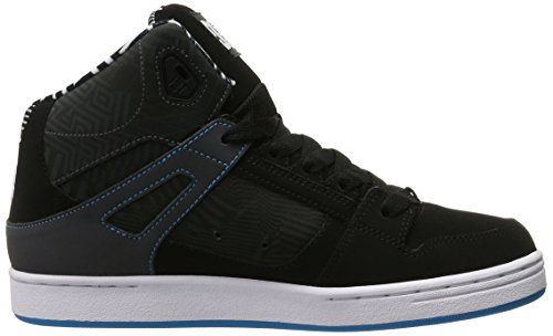 DC - - Jugend Zugstufe KB Skate-Schuhe Black/White/Blue