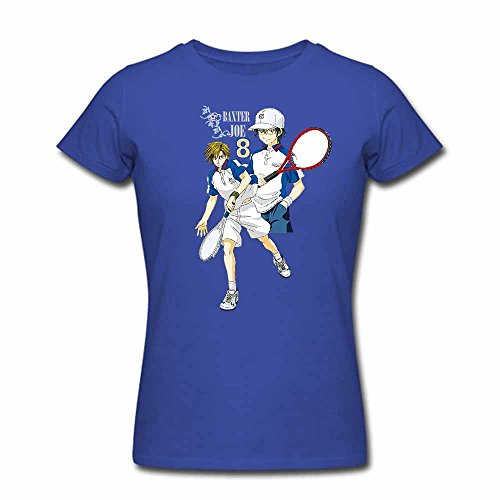 Pure cotton The Prince of Tennis short-sleeved Women's T-shirt L
