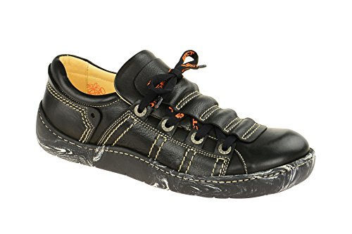 Eject 11628.002, Chaussures à lacets et coupe classique homme Noir noir,