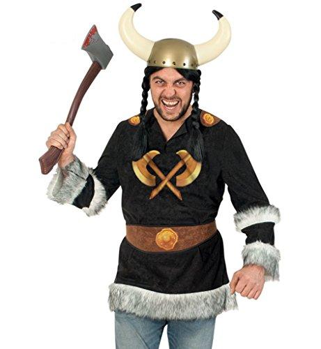Für Erwachsene Barbar Krieger Kostüm - KarnevalsTeufel Herrenkostüm Wikinger Barbar Nordmensch Krieger Eroberer Germane Kostüm für Erwachsene Gr M - XXL (XXL)