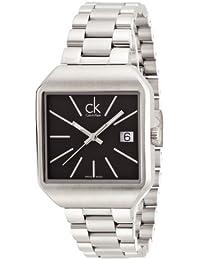 22ac8f34fa11 Calvin Klein Reloj Analógico para Mujer de Cuarzo con Correa en Acero  Inoxidable K3L33161