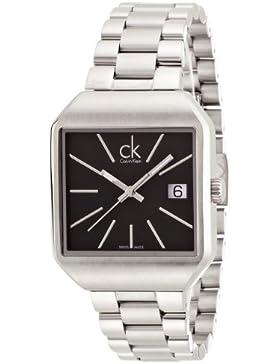 Calvin Klein Damen-Armbanduhr Analog Quarz Edelstahl K3L33161