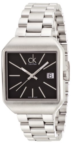 Calvin Klein K3L33161 32mm Silver Steel Bracelet & Case Mineral Women's Watch