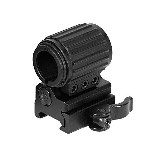 UTG Lampenring taktischer Flip-to-Side Montage Ring Flashlight/Zubehör Halterung QD Mount Picatinny/Weaver, RG-FL27QS (Leupold Flip)