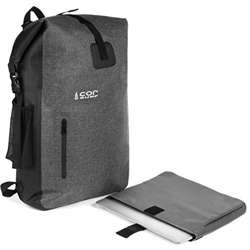 469f301805e62 Mochila Impermeable - Ultralight 40L Dry Pack con Funda para portátil  extraíble y Bolsillo Secreto para