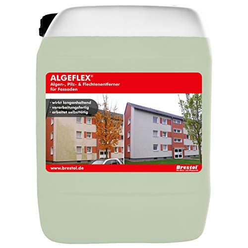 Brestol ALGEFLEX 10 Liter Algenentferner Pilzentferner Flechtenentferner Algizid Algenex