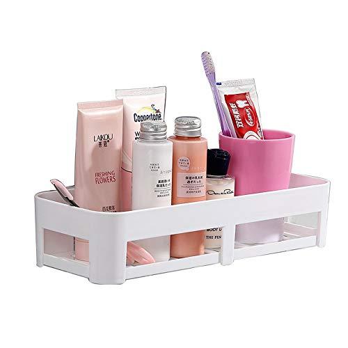 FREEDROM Bathroom Supplies Storage Rack Bathroom Vanity Suction Cup Toilet Free Punch Wall Hanging Bathroom Shelf -