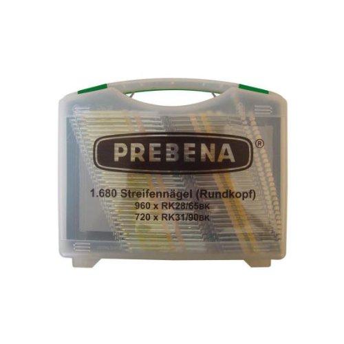 Tête Ronde bande de clous dans une mallette/RK Box