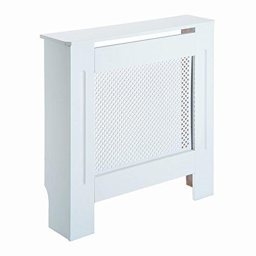 HOMCOM Cubre Radiador Cubierta de Radiador Mueble Estante de Pared para Radiador Diseño Moderno MDF...