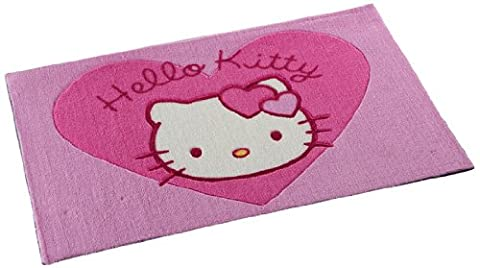 ABC Teppich Hello Kitty f.l., Rosa/Fucsia, 50 x 80 cm