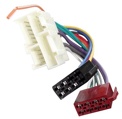 2000 Silverado-zubehör (Aerzetix ISO Konverter Adapter Kabel Radioadapter Radio Stecker ISO Kabel Verbindungskabel für amerikanische Autos C40113)